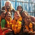 Tihar Fest in unserem sich selbst erhaltenden Kinderheim in Annapurna im November 2018