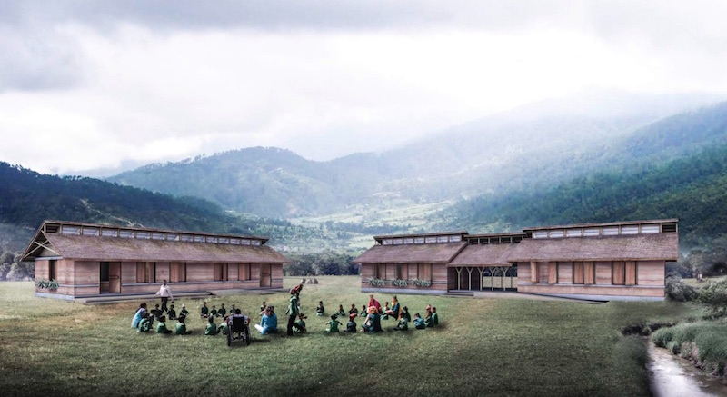 Permanent School conceptual
